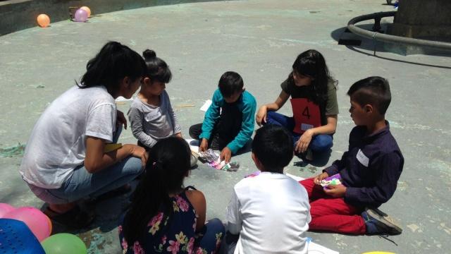 """Tercer taller de participación infantil """"Juguetes Urbanos"""""""