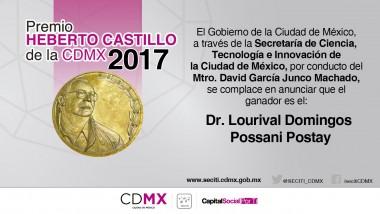 Premio Heberto Castillo  2017