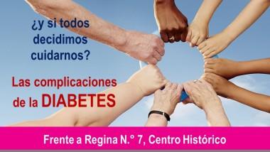 Semana de prevención de la diabetes en el Centro Histórico