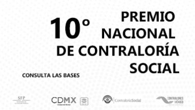 10° Premio Nacional de Contraloría Social