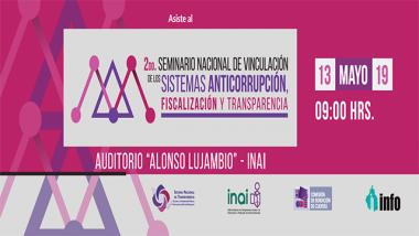 2do Seminario nacional de vinculación de los sistemas anticorrupción