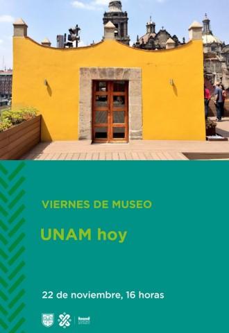 Viernes de Museo UNAM hoy